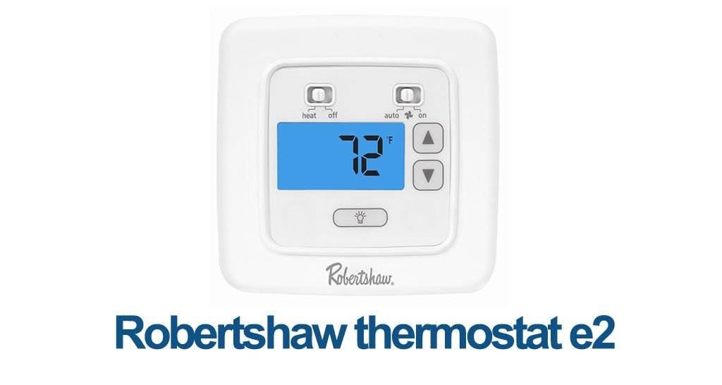 Robertshaw thermostat e2